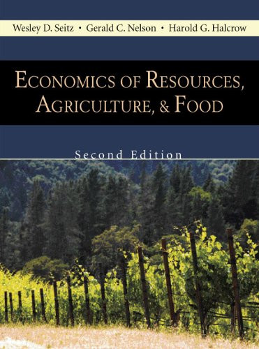 Economics of Resources Agriculture and Food Second Edition