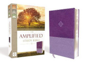 Amplified Study Bible Leathersoft Purple
