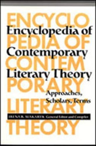 Encyclopedia Of Contemporary Literary Theory