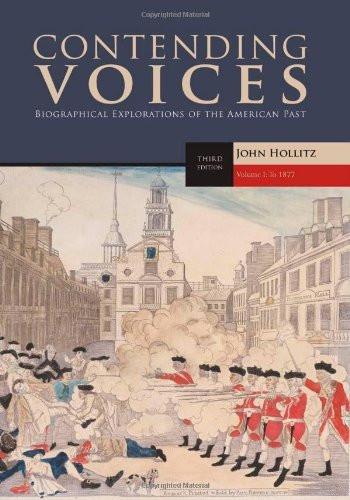 Contending Voices Volume 1