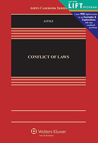 Conflict of Laws: Cases Materials and Problems