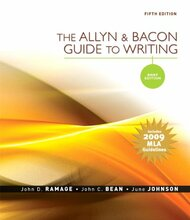 Allyn and Bacon Guide to Writing Brief Edition