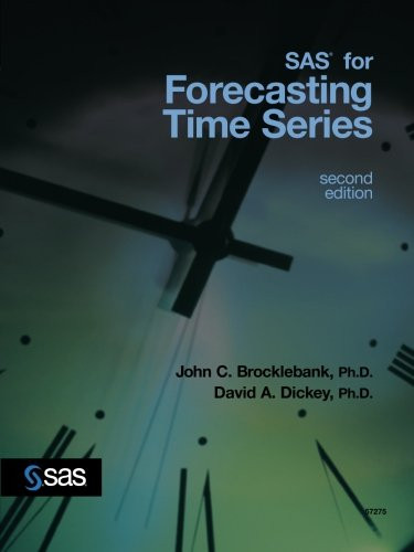 SAS for Forecasting Time Series