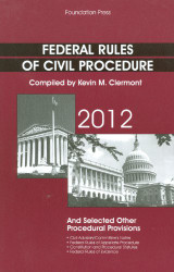 Federal Rules of Civil Procedure & Selected Other Procedural Provisions