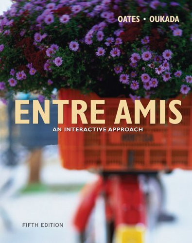 Entre Amis Student Activities Manual