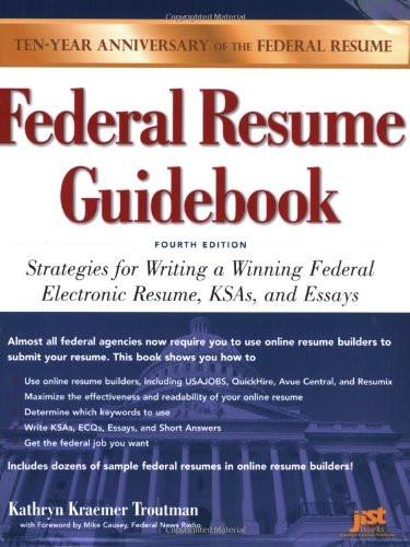 Federal Resume Guidebook