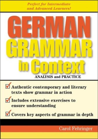 German Grammar In Context