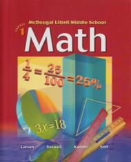 Mcdougal Littell Middle School Math