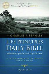 Charles F Stanley Life Principles Daily Bible NKJV