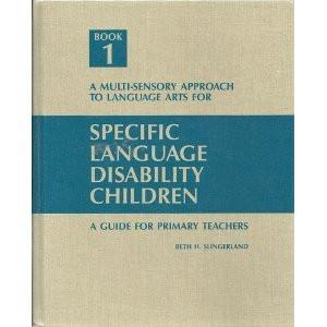 Specific Language Disability Children Revised Ed