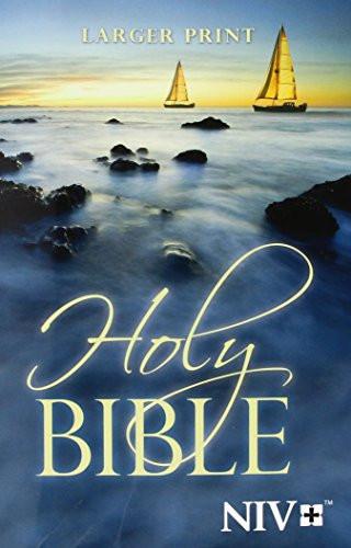 Niv Holy Bible Larger Print