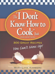 I Don't Know How to Cook Book