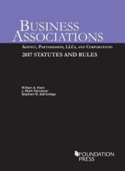 Business Associations Agency Partnerships LLCs & Corporations
