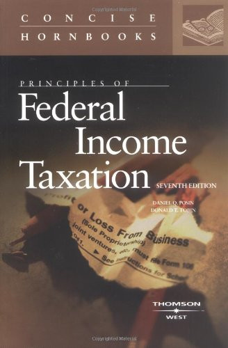 Principles of Federal Income Taxation