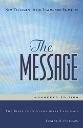 Message The Bible In Contemporary Language