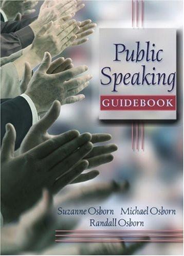 Public Speaking Guidebook