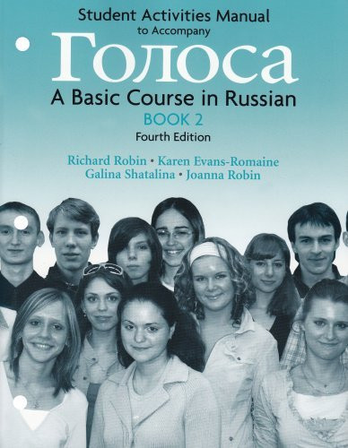 Student Activities Manual For Golosa Book 2
