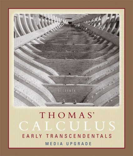 Thomas' Calculus Early Transcendentals Single Variable Part 1