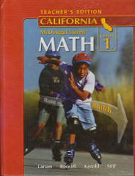 Middle School Math California Teacher'S Edition Course 1 2008