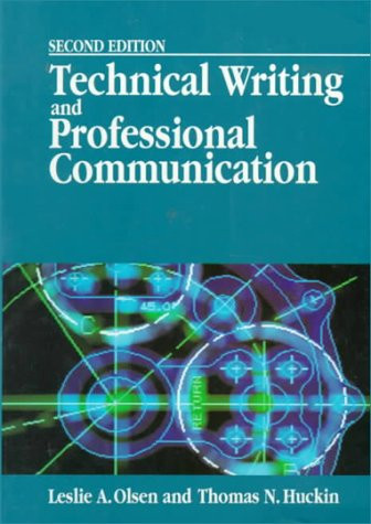 Technical Writing And Professional Communication