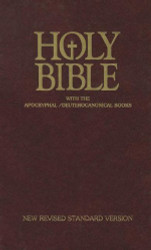 Holy Bible With The Apocryphal / Deuterocanonical Books