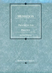 Mediation Principles and Practice