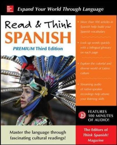 Read and Think Spanish Premium