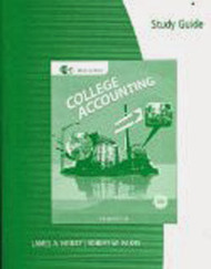 Study Guide And Working Papers Chapters 1-9 And 10-15 For Heintz/Parry's College Accounting 1