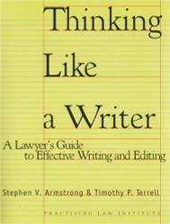 Thinking Like a Writer