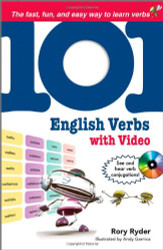 101 English Verbs with Mp4 Video Disc