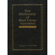 Dictionary of Real Estate Appraisal