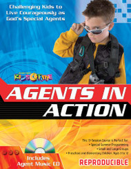 Agents in Action Leader's Guide with Music CD