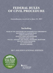 Federal Rules of Civil Procedure Selected Statutes