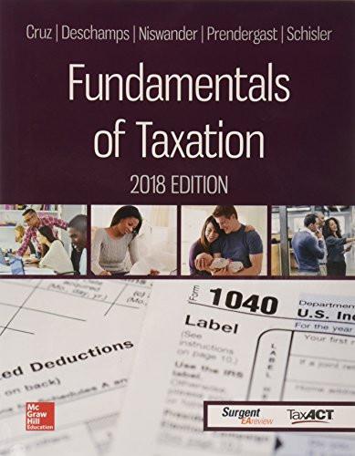 Fundamentals of Taxation