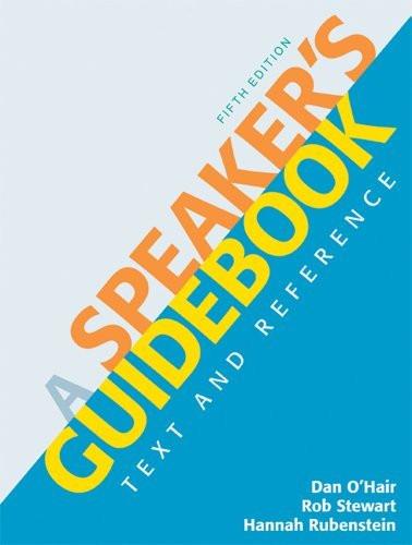 Speaker's Guidebook