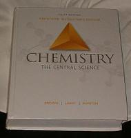 Chemistry Teacher's Edition