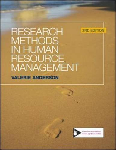 Research Methods In Human Resource Management