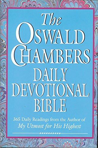 Oswald Chambers Daily Devotional Bible