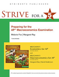 Strive for a 5: Preparing for the AP Macroeconomics Examination