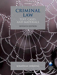 Criminal Law: Text Cases and Materials