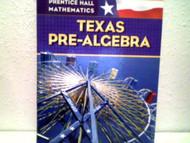 Mathematics Texas Pre-Algebra