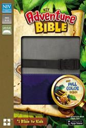 NIV Adventure Bible Imitation Leather Gray/Blue Full Color