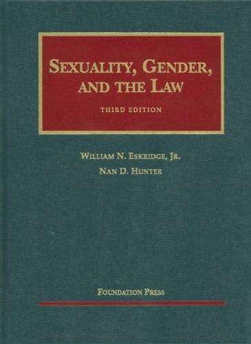 Sexuality Gender and the Law