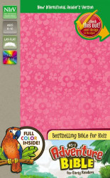 NIrV Adventure Bible for Early Readers Imitation Leather Pink Full Color