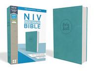 NIV Value Thinline Bible Leathersoft Blue Comfort Print