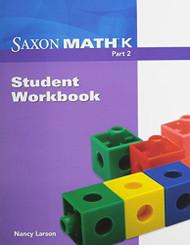 Saxon Math K: Student Workbook Part 2