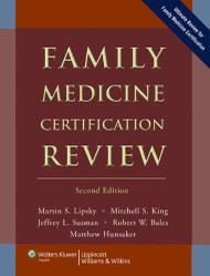 Family Medicine Certification Review