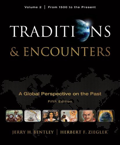 Traditions And Encounters Volume 2