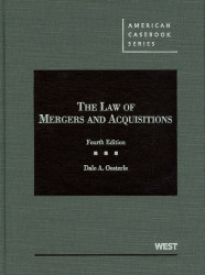 Law of Mergers and Acquisitions