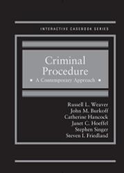 Criminal Procedure A Contemporary Approach